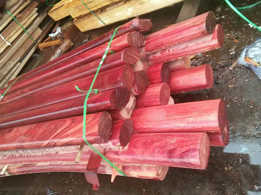 红梢木扶手